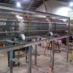 Custom stainless steel mussel grading equipment