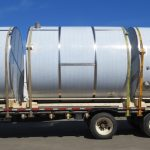 Custom stainless-steel sanitary tanks