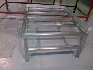 Custom stainless-steel totes