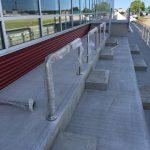 Custom stainless-steel railings