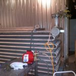 Custom stainless refrigeration coils