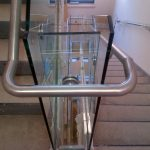 Custom stainless-steel railings