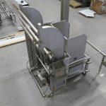 Custom stainless-steel hoppers