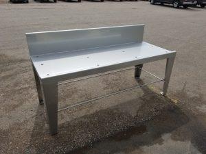 Custom stainless-steel tables
